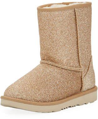 UGG Classic Short II Glitter Boot, Kids