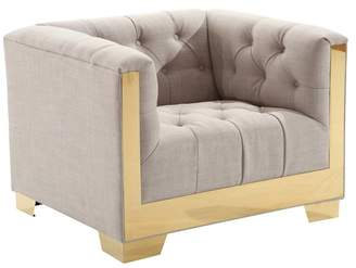 Armen Living Zinc Contemporary Chair