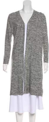 Velvet Long Sleeve Knit Sweater
