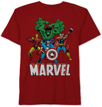Marvel Big Boys The Avengers Graphic Cotton T-Shirt