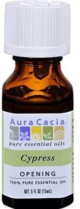 Aura Cacia Essential Oil Cypress 0.5 oz. ( Multi-Pack)