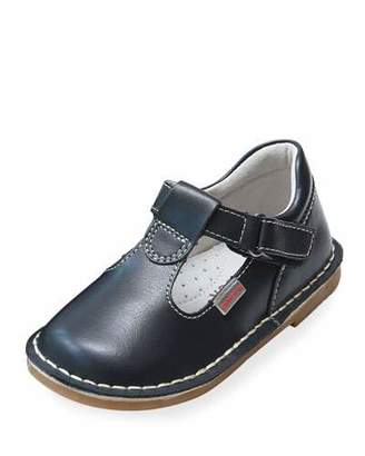 L'Amour Shoes Alexis Leather T-Strap Mary Jane, Baby/Toddler/Kids