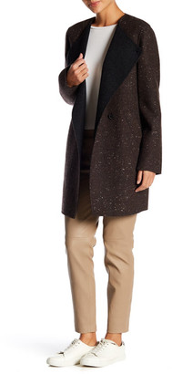 Theory Wool Blend NYMA. Donegal Divide Coat $625 thestylecure.com