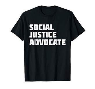 Justice Social Advocate | Novelty Awareness T-Shirt