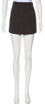 Marc Jacobs Pinstripe Mini Skirt