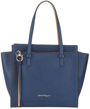 Salvatore Ferragamo Amy Medium Leather Tote Bag