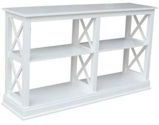INC International Concepts International Concepts Hampton Sofa Server Table with Shelves