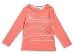 Bob Der Bar Little Girl's Striped Cotton Sweater