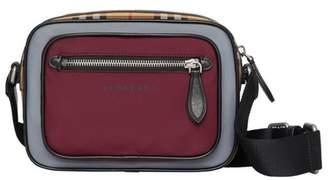 Burberry Colour Block Vintage Check Crossbody Bag