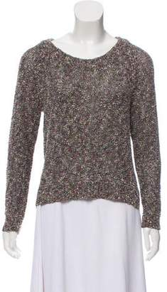 Rag & Bone Long Sleeve Bouclé Sweater