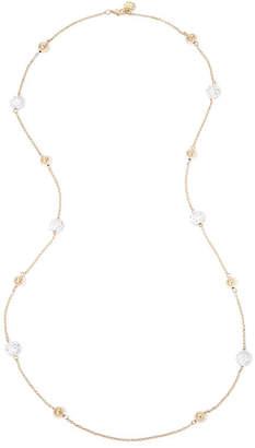 MONET JEWELRY Monet Crystal Pav Gold-Tone Ball Illusion Necklace