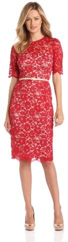 Maggy London Women's Lace Dress With ...