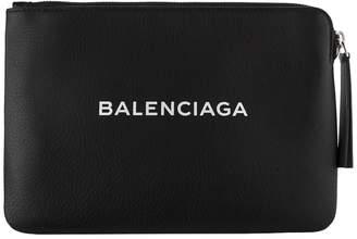 Balenciaga Zipped Logo Pouch