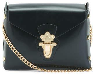 Chain Strap Studded Shoulder Bag