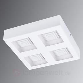 Vierflammige LED-Deckenlampe Ferreros