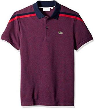 Lacoste Men's Short Sleeve Slim FIT Made in France Pique Polo
