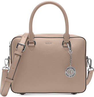 Dkny Bryant Sutton Leather Zip Satchel