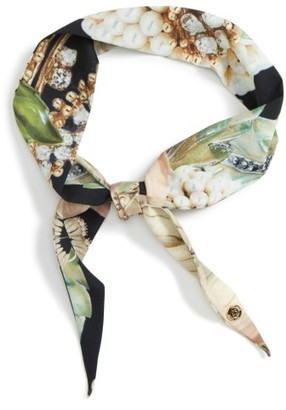 Women's Ted Baker London Gem Gardens Skinny Scarf $29 thestylecure.com