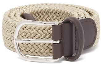 Andersons Anderson's - Woven Elasticated Belt - Mens - Khaki