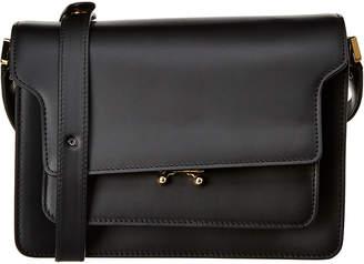 Marni Leather Trunk Shoulder Bag