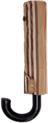 Burberry Beige Vintage Check Trafalgar Umbrella