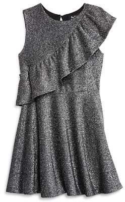 Bardot Junior Girls' Mya Ruffled Shimmer Dress - Big Kid