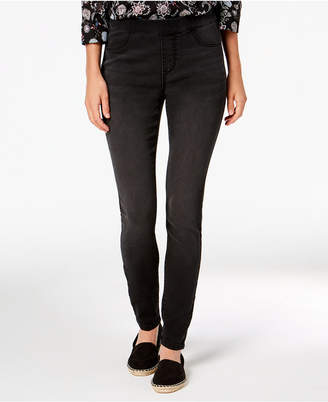Style&Co. Style & Co Petite Pull-On Skinny Ankle Jeans, Created for Macy's