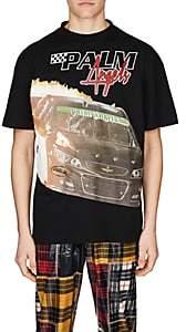 Palm Angels Men's Palm & Furious Cotton T-Shirt - Black