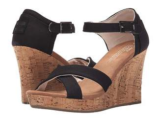 Toms Strappy Wedge Women's Wedge Shoes