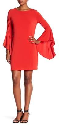 Leota Drama Bell Sleeve Dress