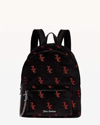 Juicy Couture Embroidered JC Delta Backpack