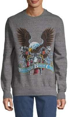 Eleven Paris Graphic Cotton Sweater