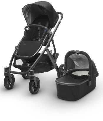 Infant Uppababy 2017 Vista Aluminum Frame Convertible Stroller With Bassinet & Toddler Seat