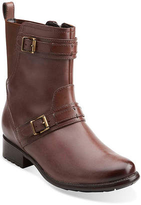 Clarks Plaza City Comfort Ankle Boots