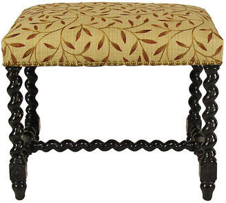 One Kings Lane Vintage 19th-C. Italian Spool Turned Bench - The Barn at 17 Antiques