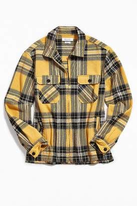 Urban Outfitters Big Twill Plaid Flannel Shirt