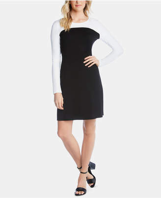 Karen Kane Long-Sleeve Colorblocked Dress
