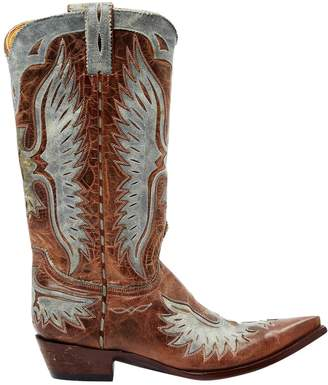 Old Gringo Brown Leather Boots