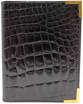 Christian Dior Brown Crocodile Small Bag, wallets & cases
