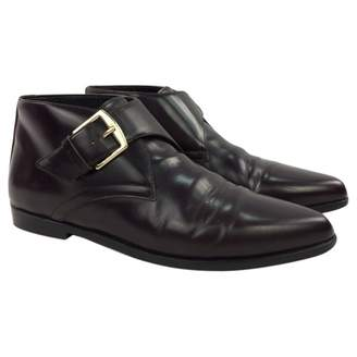 Burberry Patent leather boots