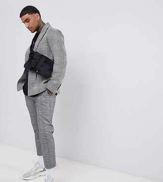 ADD oversized blazer in gray check