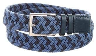 Etro Woven Rope Belt