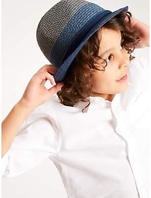 26a6ac88c87eb John Lewis   Partners Children s Tonal Trilby Woven Hat