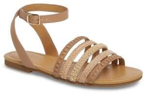 Jack Rogers Hannah Braided Embellished Sandal