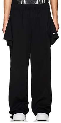 Helmut Lang Men's T-Shirt-Look Sweatpants
