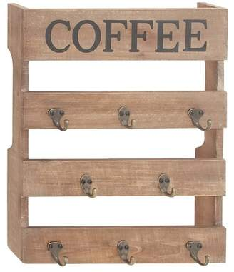 "UMA Wooden Metal Coffee Hook Frame - 15\""x19\"""