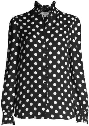 3c86a90c14f6db Womens Polka Dot Blouse - ShopStyle UK