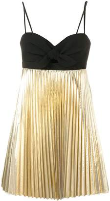 Paule Ka pleated mini dress