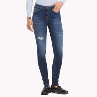 Tommy Hilfiger Distressed Jegging Fit Jean