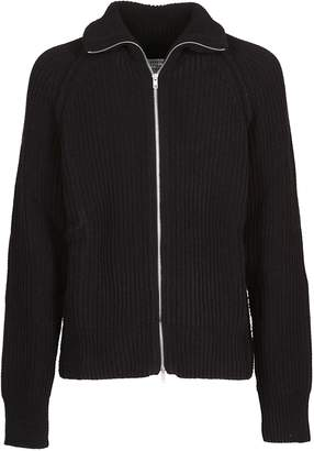 Maison Margiela Front Zip Closure Sweater